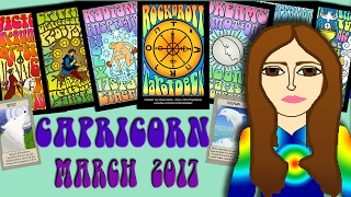 CAPRICORN  March  2017 Tarot psychic reading forecast predictions free