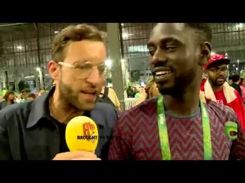 WHEN USAIN BOLT AND JAMAICANS TOOK OVER RIO | UP AND ABOUT | RIO 2016 |