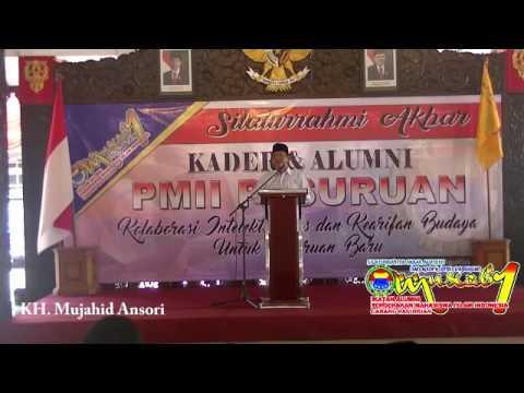 KH. Mujahid Ansori; Silaturahmi Akbar PC IKAPMII Pasuruan