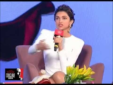 Deepika Padukone gets candid at India Today Conclave 2014