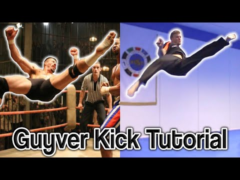 Guyver Kick Tutorial Aka Boyka scott Adkins Signature Move video