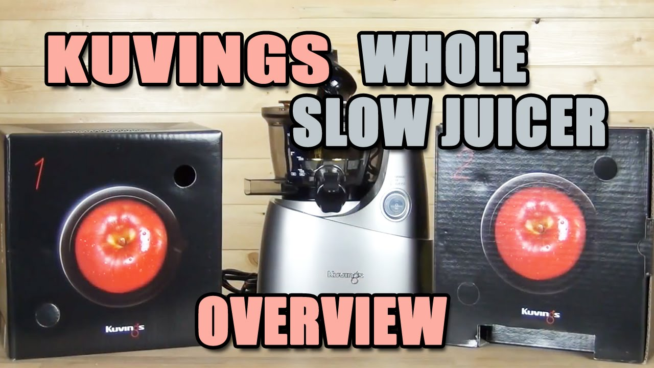 Kuvings Slow Juicer Assembly : Kuvings Whole Slow Juicer B6000S Product Overview - YouTube