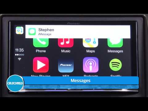 Pioneer and Apple CarPlay Demo | Crutchfield Video