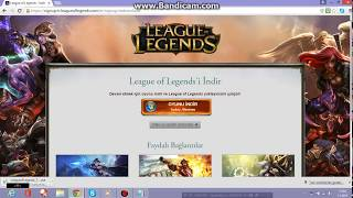 League Of Legends (lol) Nasıl indirilir ?