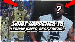 LeBron's BEST FRIEND In High School Who DIDN'T Make The NBA! What Happened To ROMEO TRAVIS Career!?