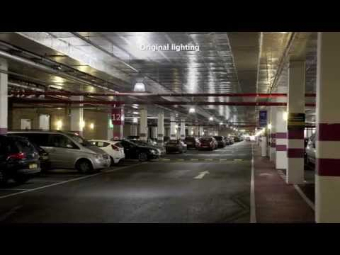 Philips Green Parking System at ExCeL