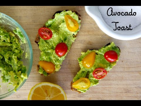 Healthy Avocado Breakfast Avocado Toast Healthy