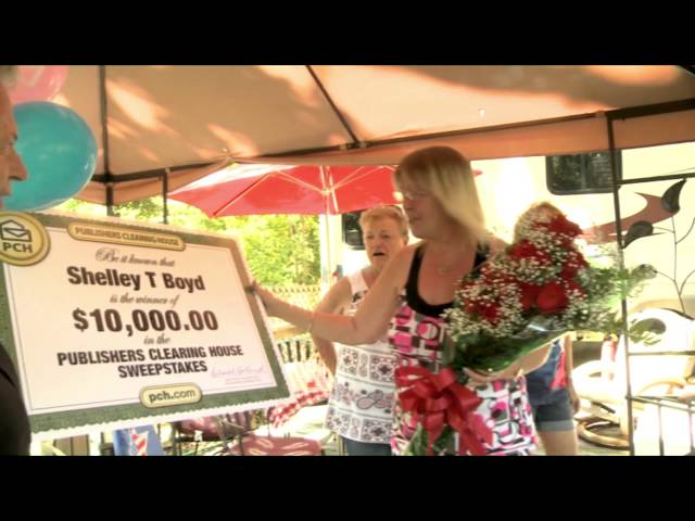 Meet our latest PCH $10,000 Winner: Shelley Boyd!