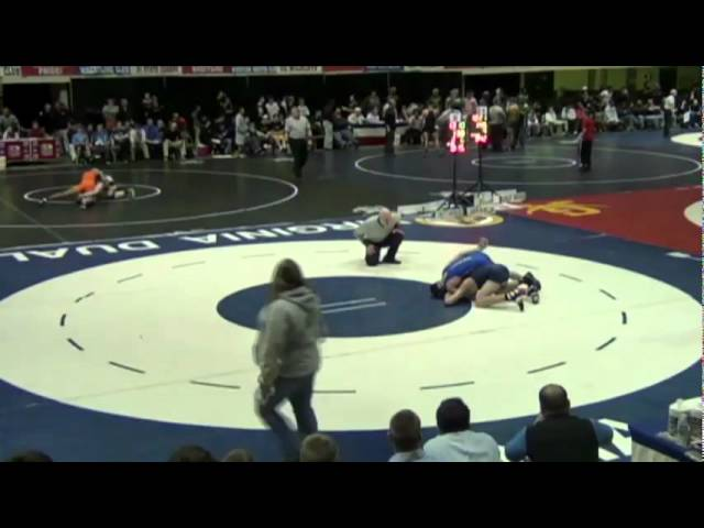 138- Josh Minor (Canon Mac) vs. Dallas Smith (Christiansburg)