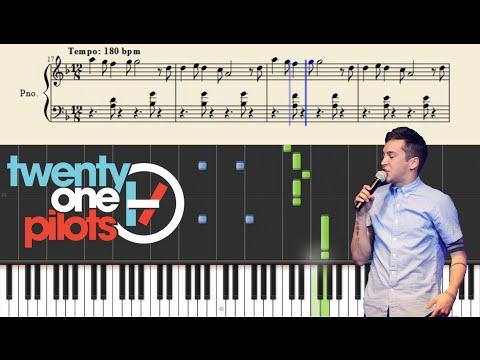 twenty one pilots: Message Man (Piano Tutorial) + SHEETS