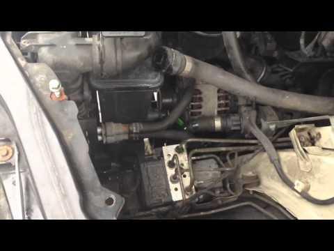 BMW E46 E53 X5 Coolant Expansion Tank Removal And Fix 320i 323i 325i 328i 330i