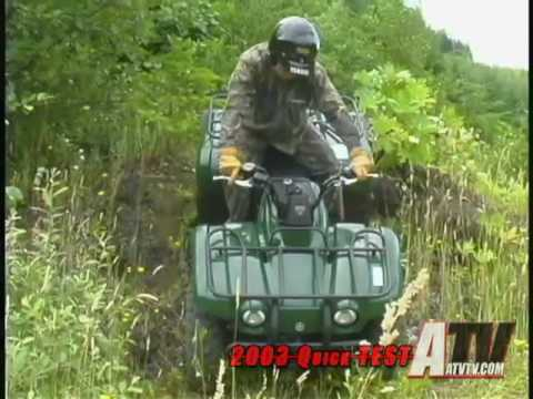 ATV Television QuickTest - 2003 Yamaha Big Bear 400