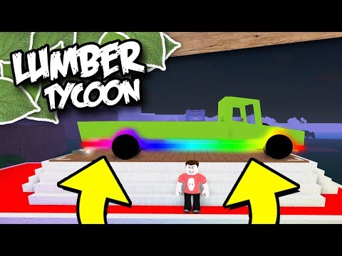 HOW TO GET NEON LIGHTS IN LUMBER TYCOON 2