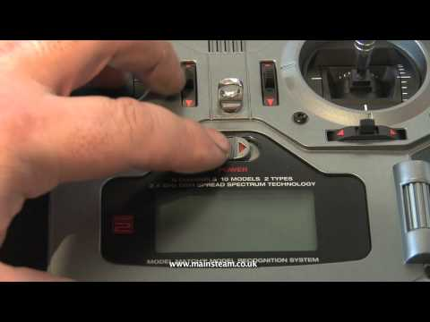 HOW TO BIND A SPEKTRUM DX6i RECEIVER TO A DX6i TRANSMITTER
