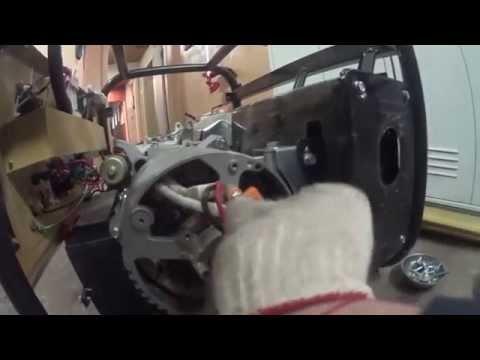 как снять ротор и статор Skiper LT 6500 EB 4