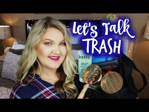 LET'S TALK TRASH | BEAUTY EMPTIES + MINI REVIEWS  NOV 2017