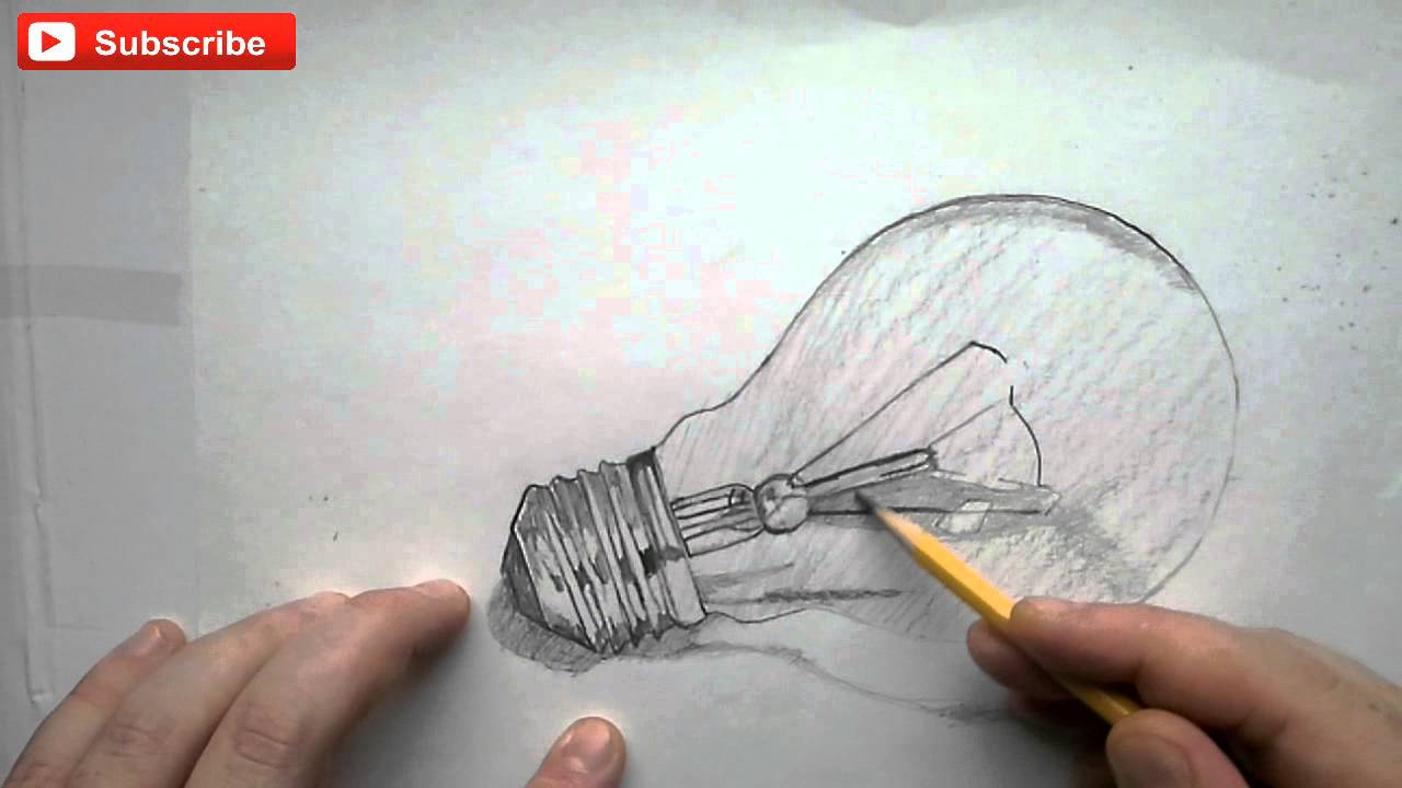 Light Bulb Drawing Youdraw How to Draw a Light