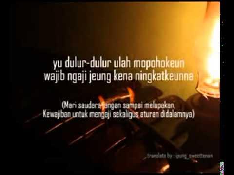 Syi'ir Tanpo Waton Versi Sunda