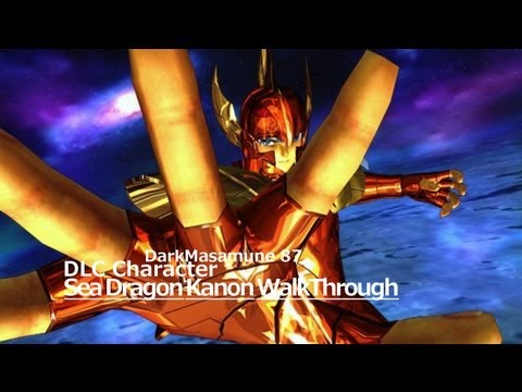 Saint Seiya: Sanctuary Battle Gold Saint DLC Sea Dragon Kanon Walkthrough/Moveset Guide Walkthrough