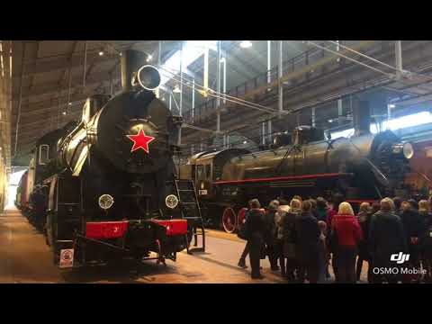Музей железных дорог России. Санкт-Петербург.