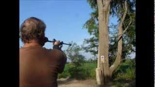 Shooting a blowgun with kirsten joy weiss