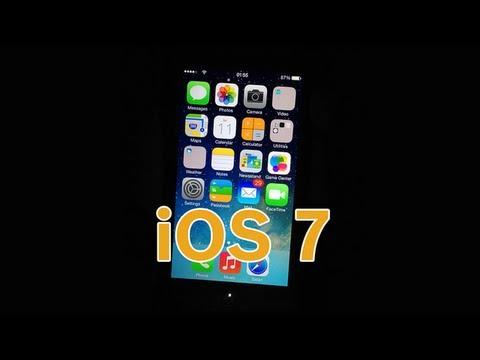 Review/Revisão iOS 7 em Português - iPhone 4S e iPhone 5