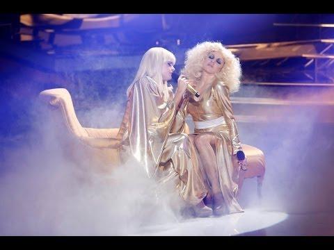 Tu Cara Me Suena - Melody y Angy imitan a Lady Gaga y Christina Aguilera
