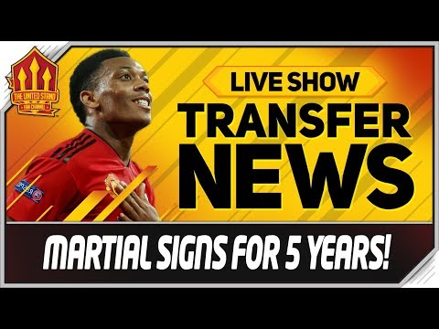 Anthony MARTIAL SIGNS MAN UTD Transfer Deadline Day News