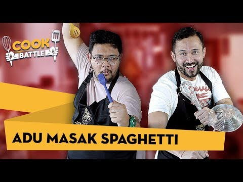 ADU MASAK SPAGHETTI  - Chef Norman VS Hifdzi Khoir | COOK BATTLE #2