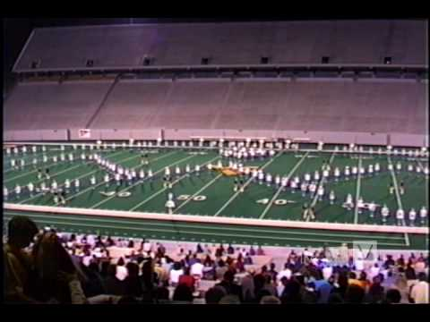 Busy Bee Band & Honeybees 1999 Field Show MOUNTAINEER FIELD Part 2