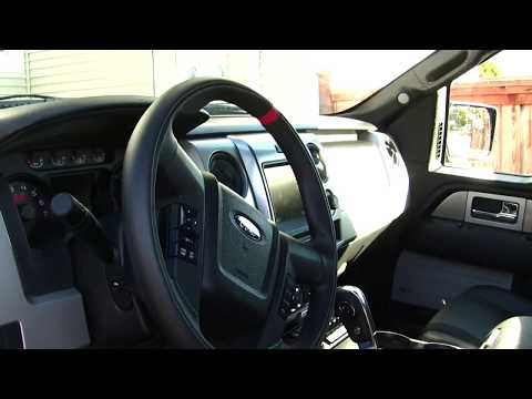 2013 Ford Raptor SVT interior Walkaround