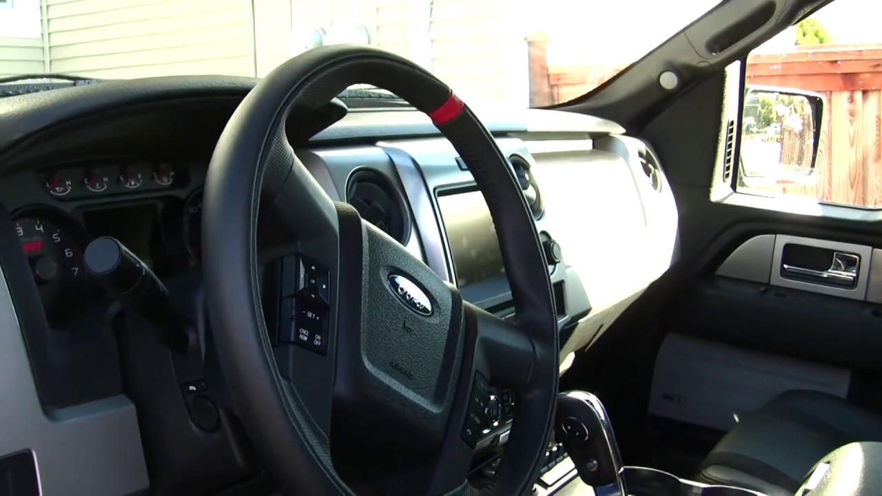2013 Ford Raptor SVT interior Walkaround - YouTube