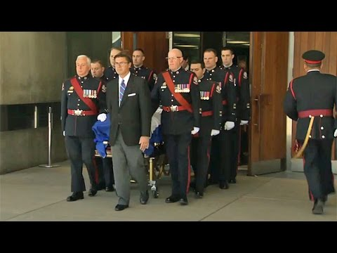 Funeral procession for Rob Ford