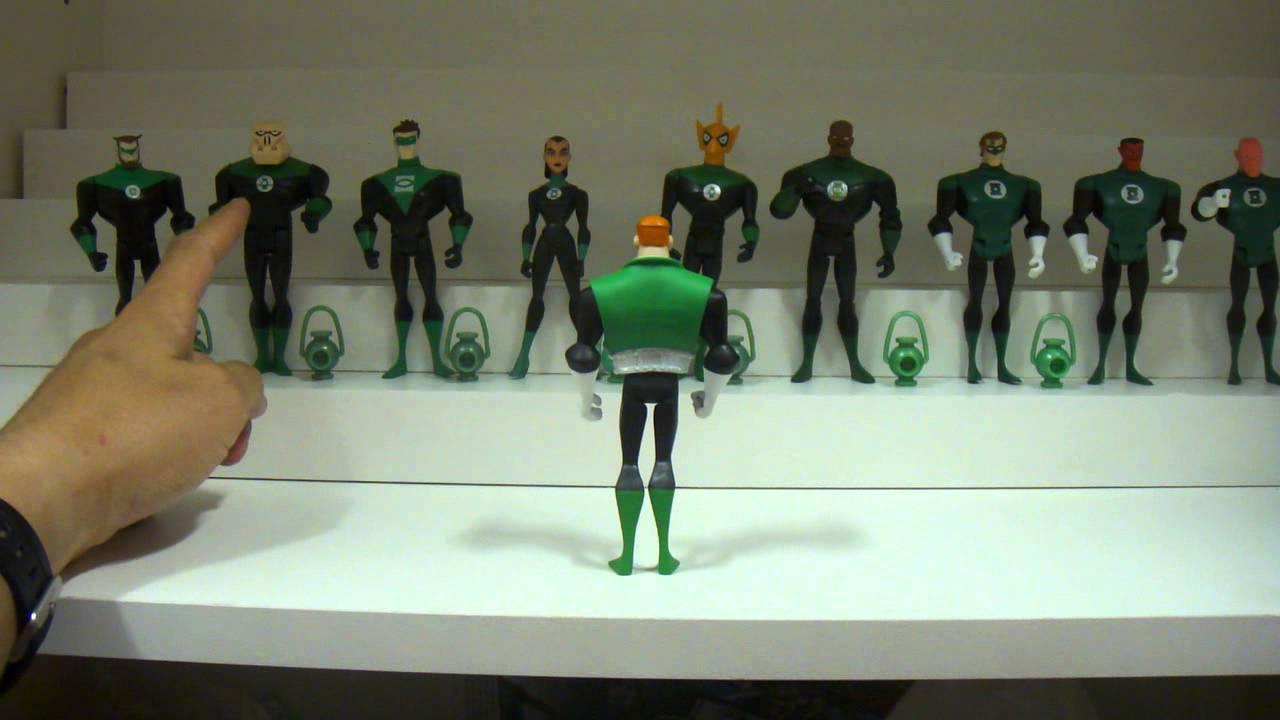 Review Liga da Justiça JLU: 3-pack Guy Gardner e Tropa dos
