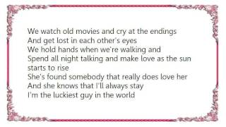 Watch Vince Gill The Luckiest Guy In The World video