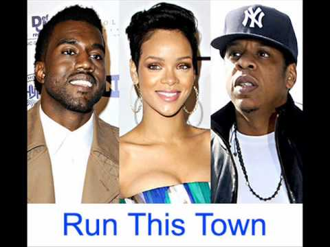 Jay Z ft Rihanna & Kanye West Run This Town + Lyrics HQ