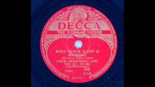 Louis Armstrong And His All Stars Baby Your Sleep I Showing