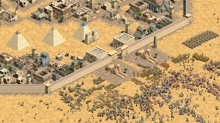 THE SIEGE of EGYPT - Age of Empires 2 HD (4K Gameplay)
