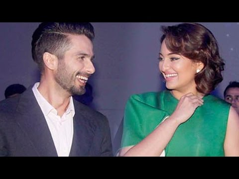 Jab They Met: Ex Lovers Shahid Kapoor And Sonakshi Sinha Bumped Into Each Other