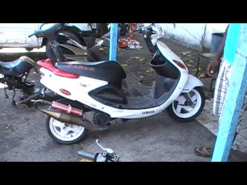 karla racing vende esta grand axis 100