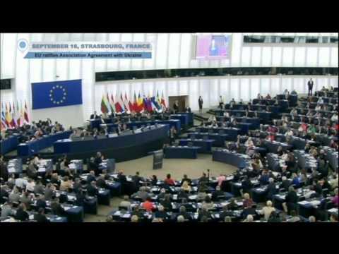 EU and Ukraine Seal Landmark Deal: European and Ukrainian Parliaments Ratify Association Agreement