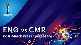 ENG v. CMR - Post-Match Press Conference