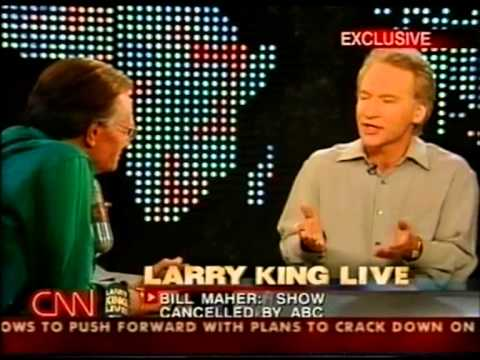 Bill Maher on Larry King Live after