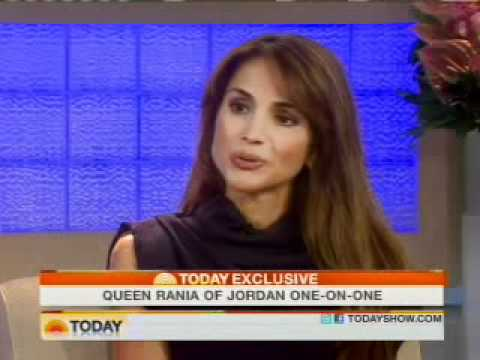 "Queen Rania on the ""TODAY"" show"