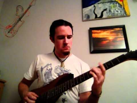 Die to Live by Steve Vai guitar cover (Alien Love Secrets) Dimarzio D Activator Neck and Liquifire