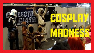 Cosplay Madness At Collectormania 2014