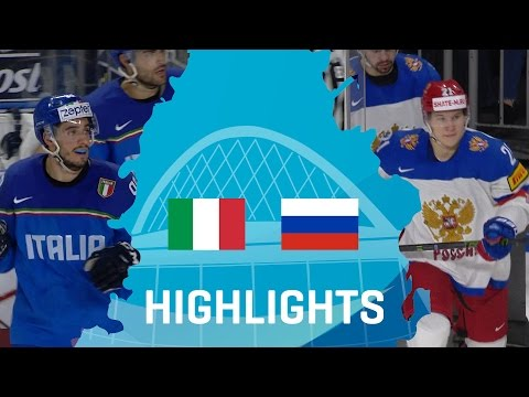 Italy - Russia | Highlights | #IIHFWorlds 2017