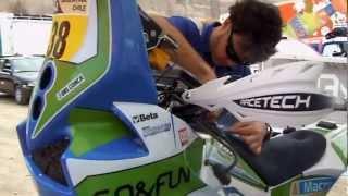 Dakar 2013 Ultimi controlli per Alex Zanotti