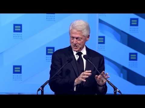 Bill Clinton at the 2014 HRC National Dinner