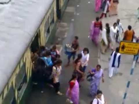 Office Time Indian Local Train video